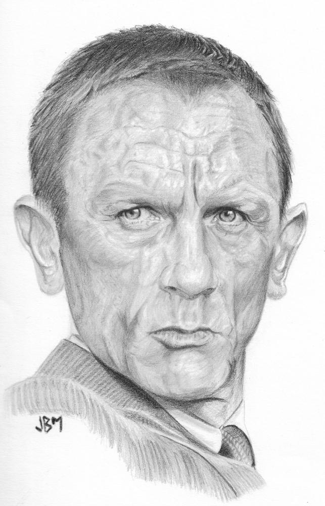 Daniel Craig par JBM